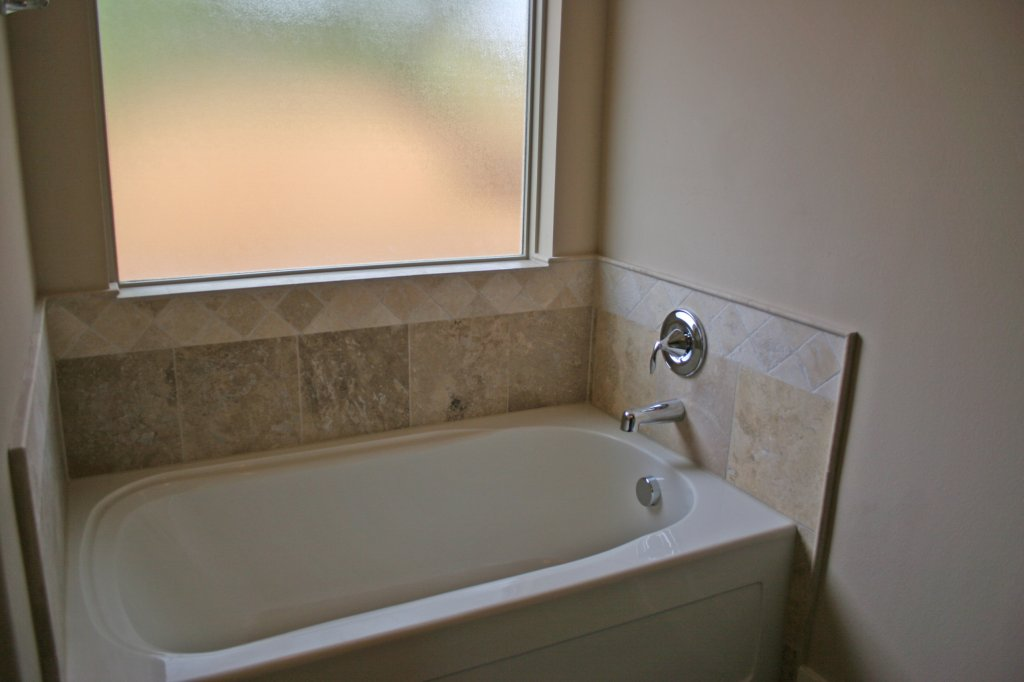 Guest Bathroom Tub in similar home