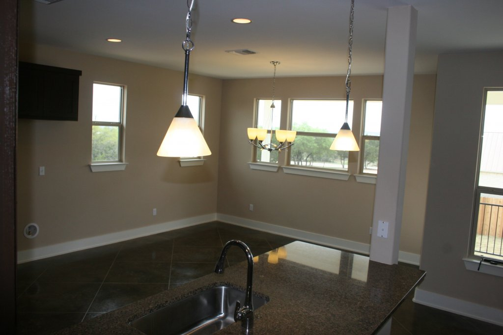 Kitchen  & large dining area in similar home