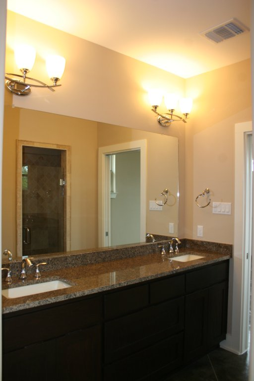 Master Bath Vanities in similar home