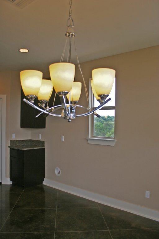 Quality light fixtures in similar home