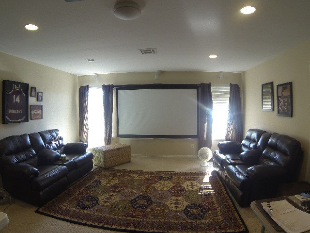 Media room/ third living area