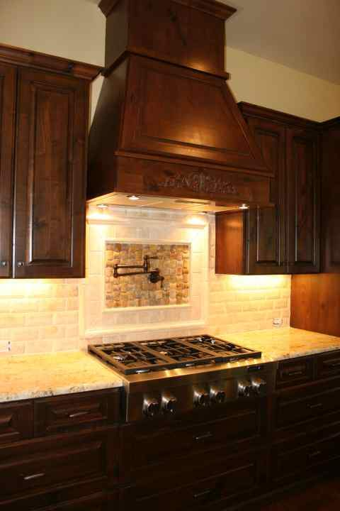 Commercial style gas range