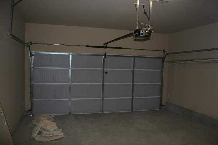 garage with opener