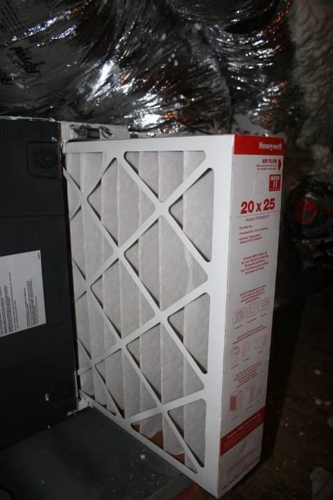 high efficiency filtration and fresh air handler