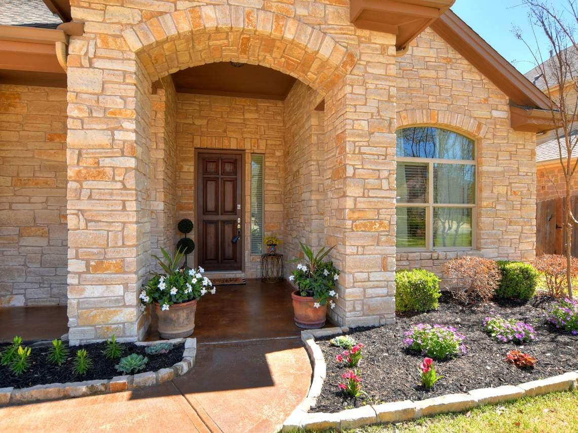 Front Porch -1804 Valle Verde, Cedar Park, Leander TX 78641