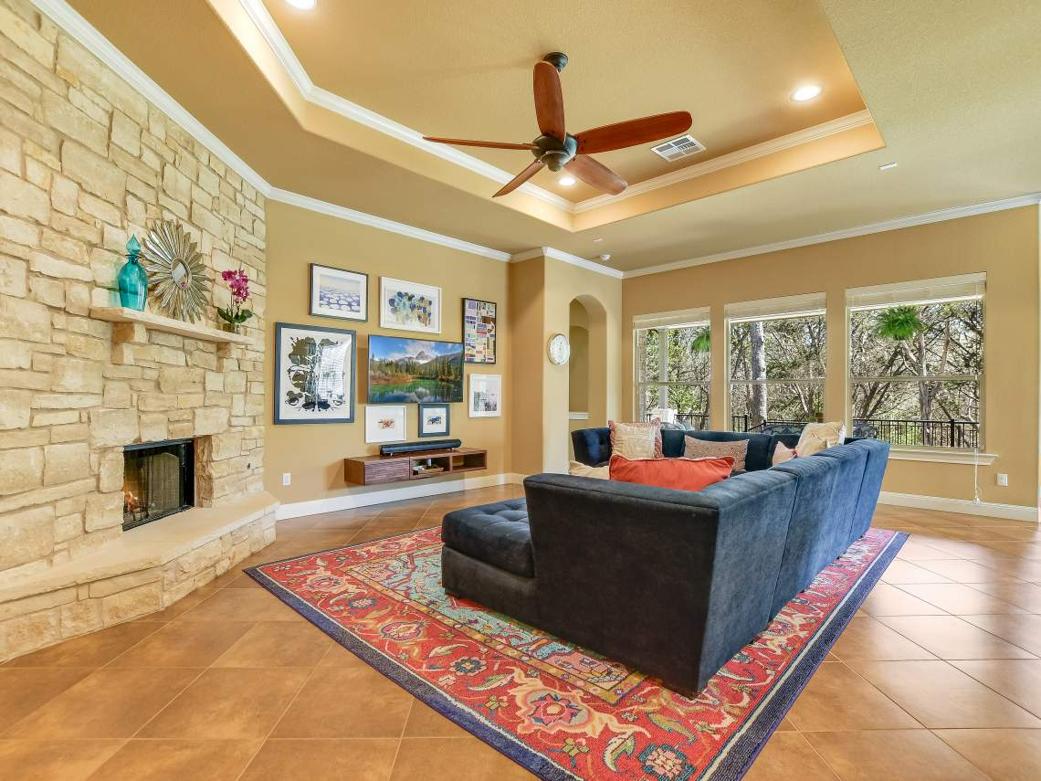 Living -1804 Valle Verde, Cedar Park, Leander TX 78641