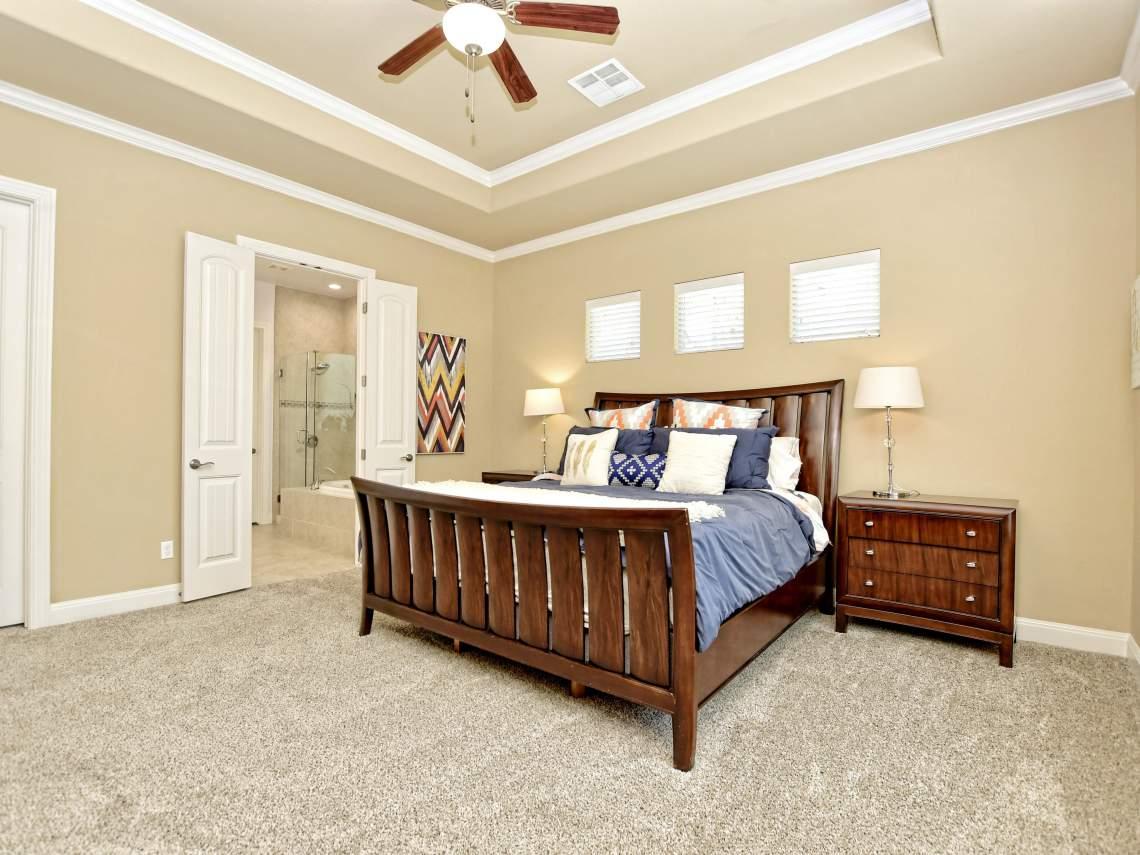 Master Bedroom1804 Valle Verde, Cedar Park, Leander TX 78641