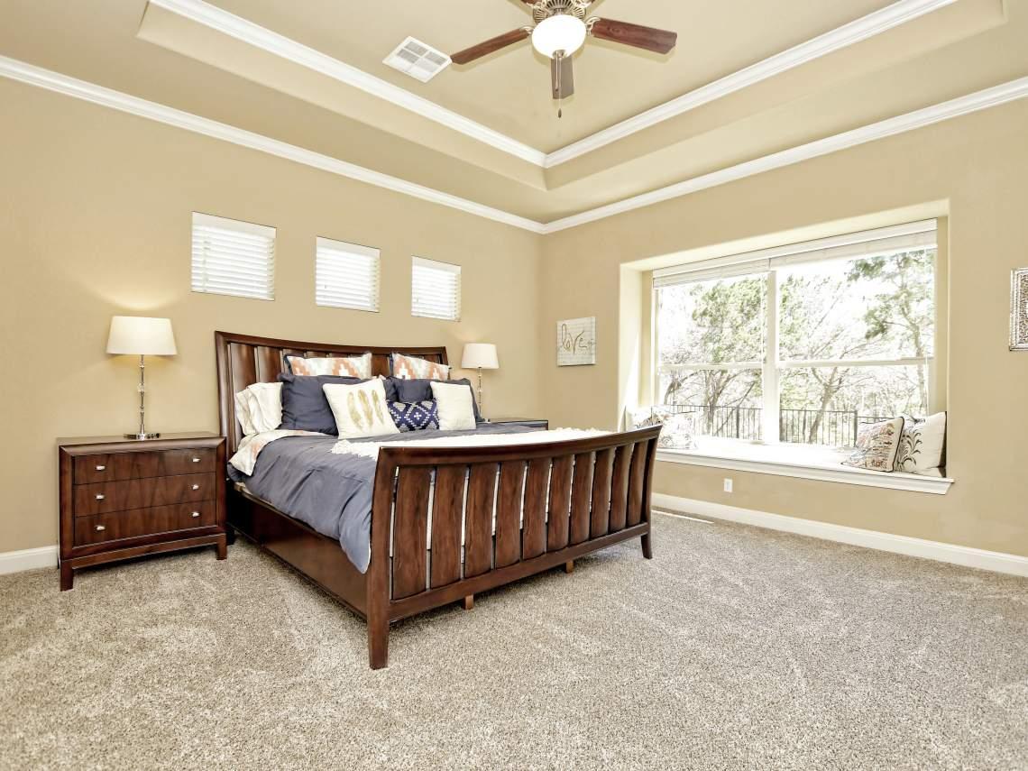 Master Bedroom - 1804 Valle Verde, Cedar Park, Leander TX 78641