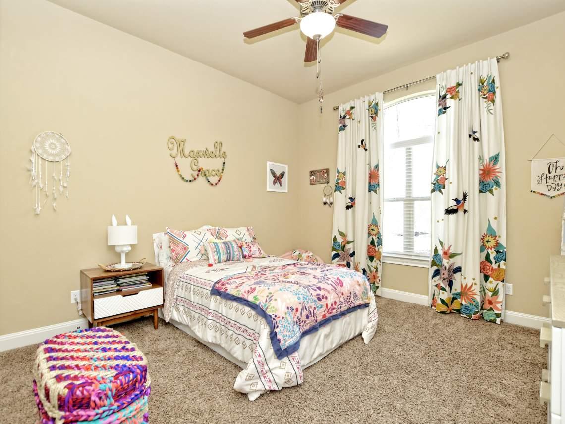 2nd-Bedroom- 1804 Valle Verde, Cedar Park, Leander TX 78641