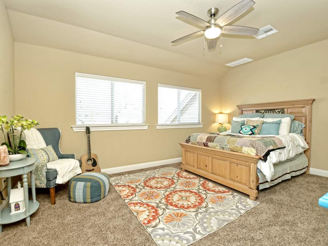 Guest-Bedroom - 1804 Valle Verde, Cedar Park, Leander TX 78641