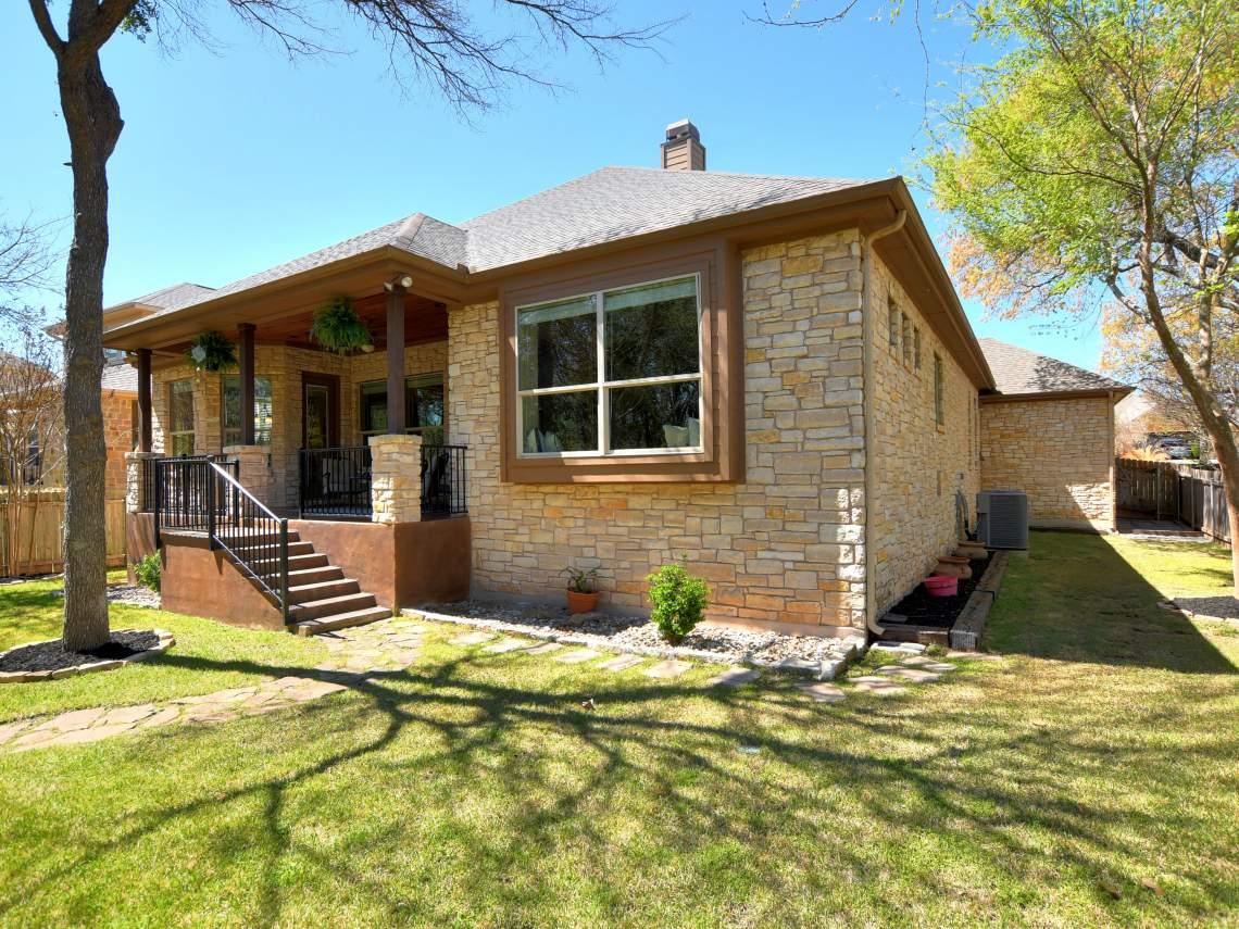 Back - 1804 Valle Verde, Cedar Park, Leander TX 78641