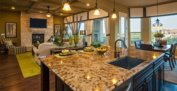 Monterey homes bella colinas interior 2 Home interior pictures for sale