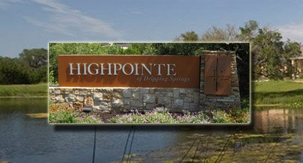 highpointe homes for sale austin dripping springs