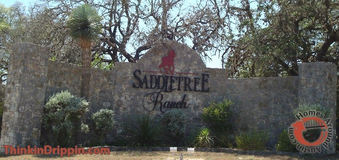 Saddletree Ranch main entrance