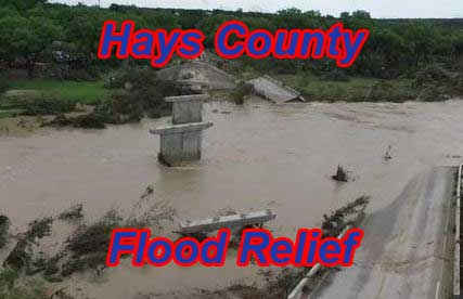 Hays County 2015 flood relief