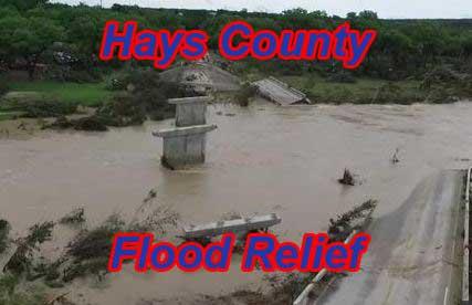 Hays County 2015 flood relief